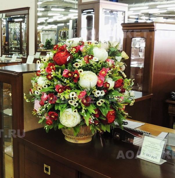Искусственные цветы напольных ваз купить заказ доставки цветов в йошкар-оле