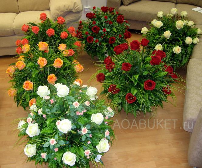 Цветы розы искусственные