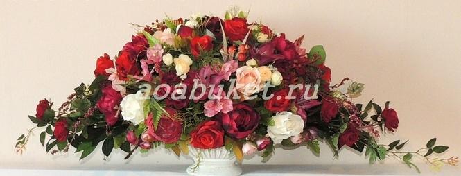 Купить искусственные цветы как украшение заказ цветов с доставкой в сочи